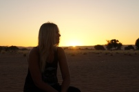 Me in sunset
