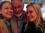 Dad & his daughters