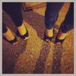Dancing shoes